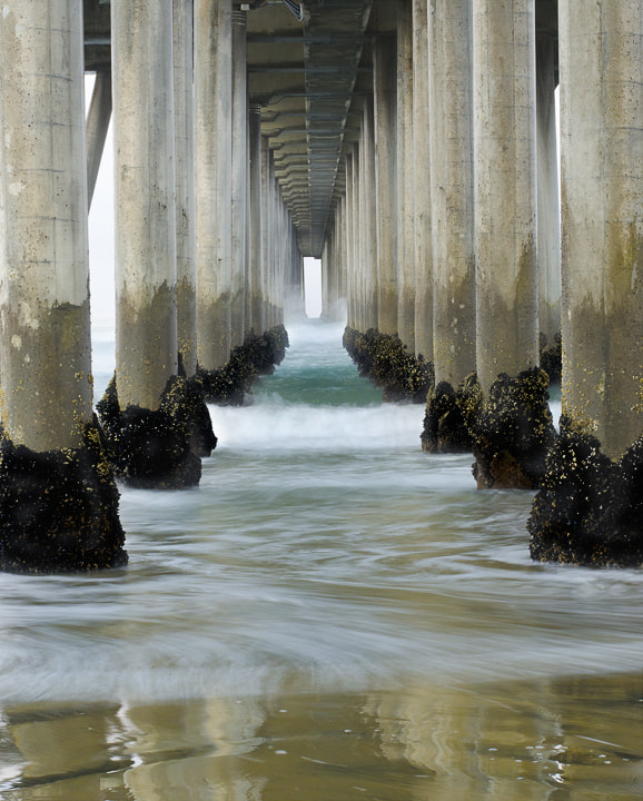 Photograph Under the Pier by Ashley Berger-Rivera on 500px