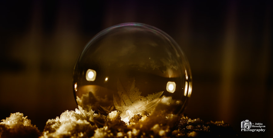 Bubble by Jukka Hesselgren on 500px