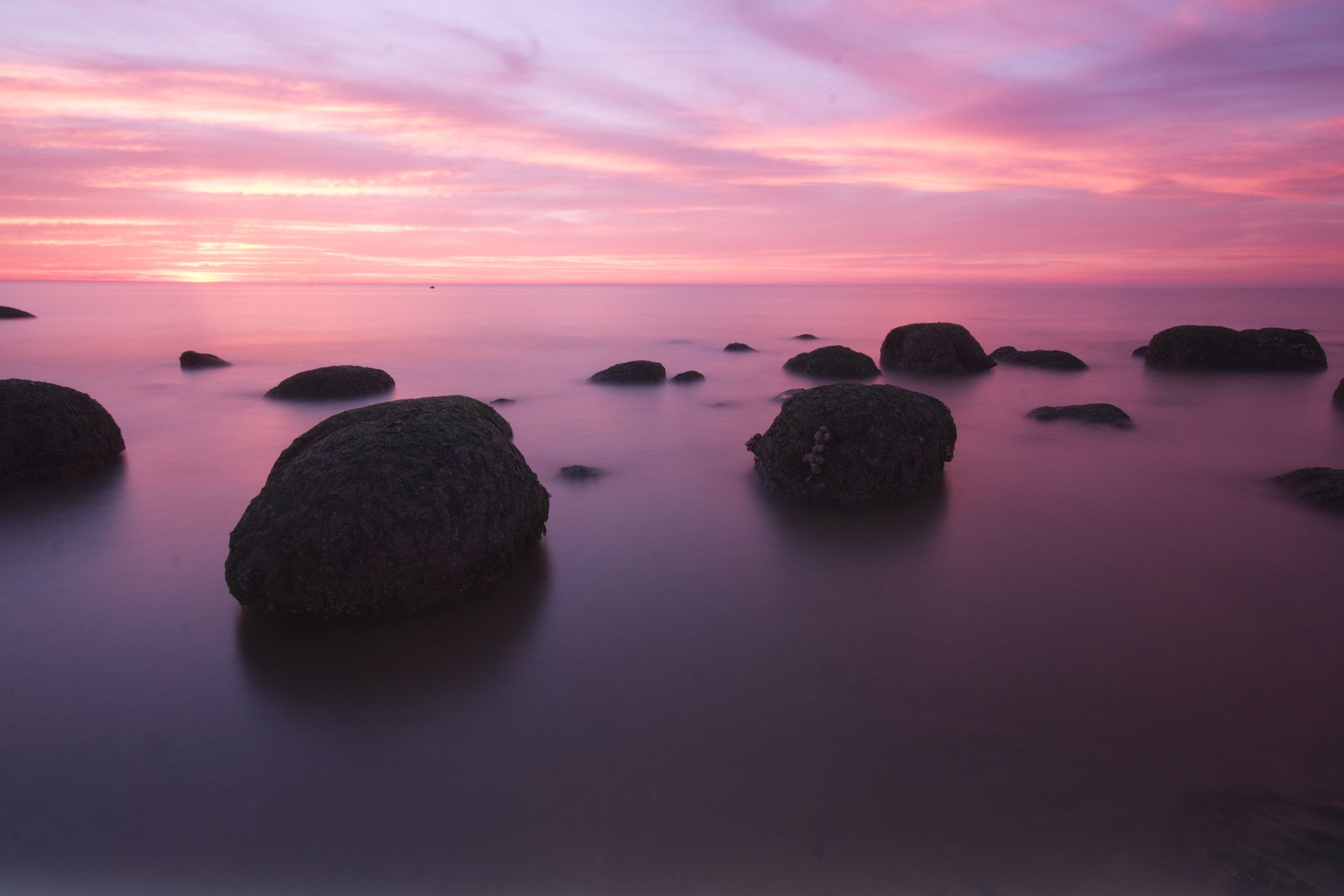Photograph Purple Sunset by Phil Collins on 500px
