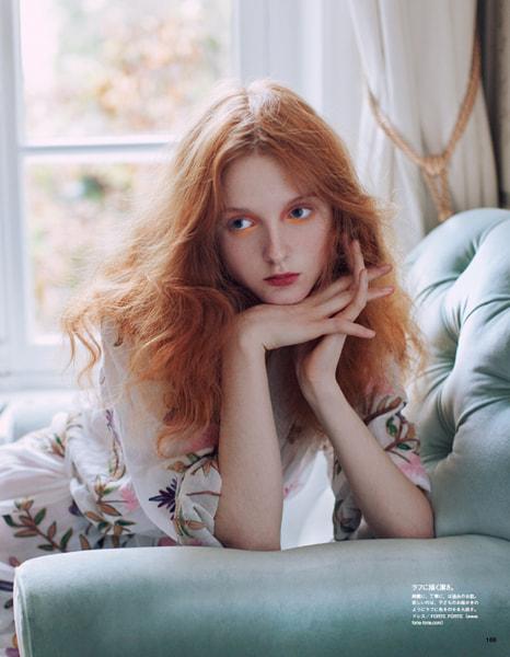 Vogue Japan 2016年2月,Alexandra Sophie在500px.com上
