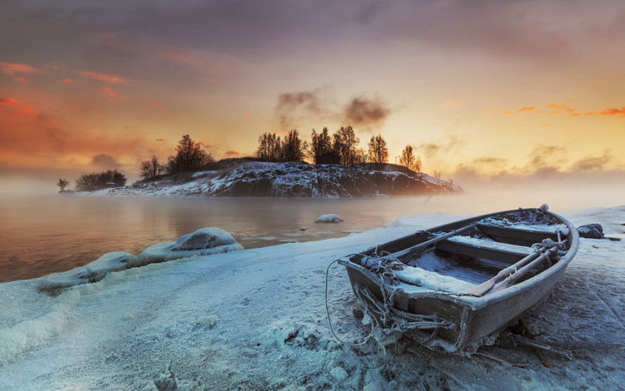 The Steaming Baltic Sea by Richard Beresford Harris on 500px.com