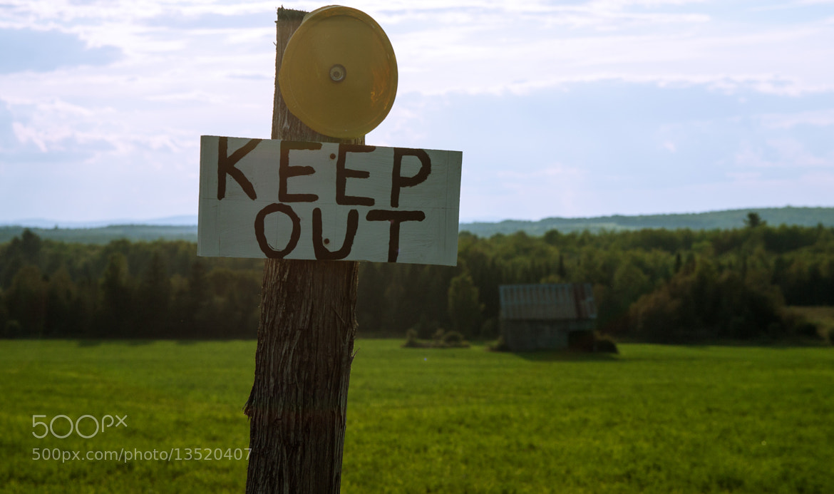 Photograph KEEP OUT by Ash Furrow on 500px