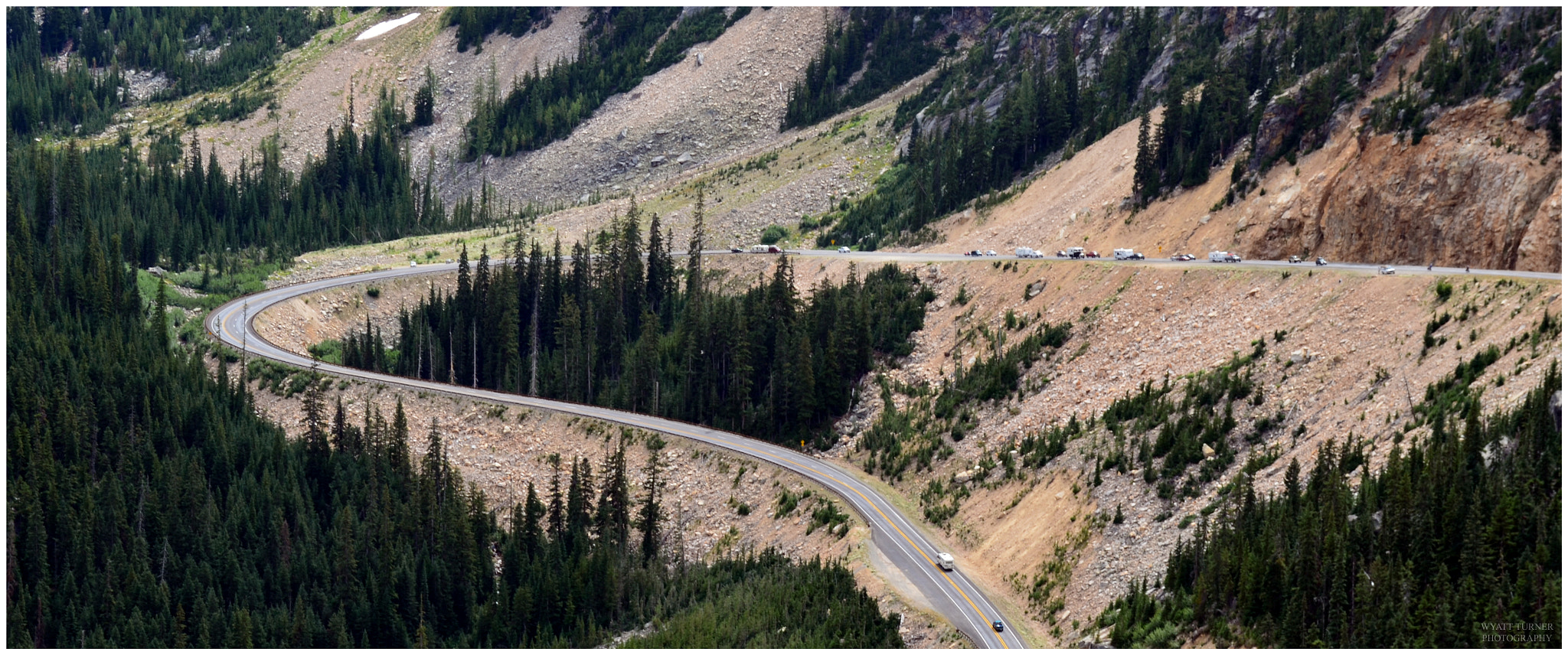 Photograph HWY 20 Washington State by Wyatt Turner on 500px