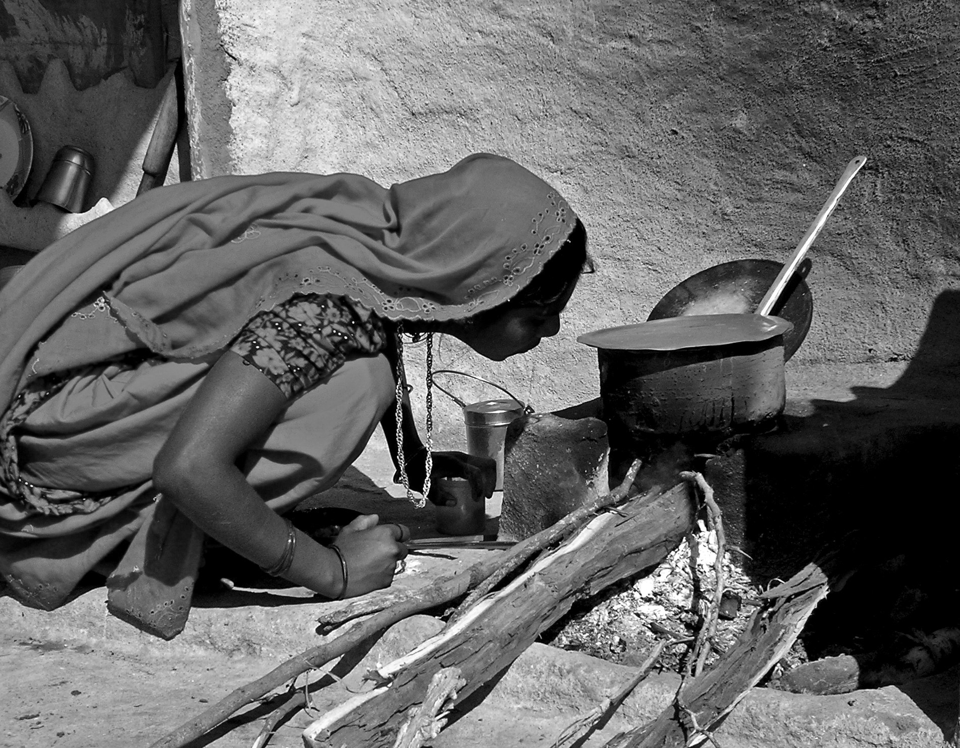 Photograph Cooking hard by Dhimant Vyas on 500px