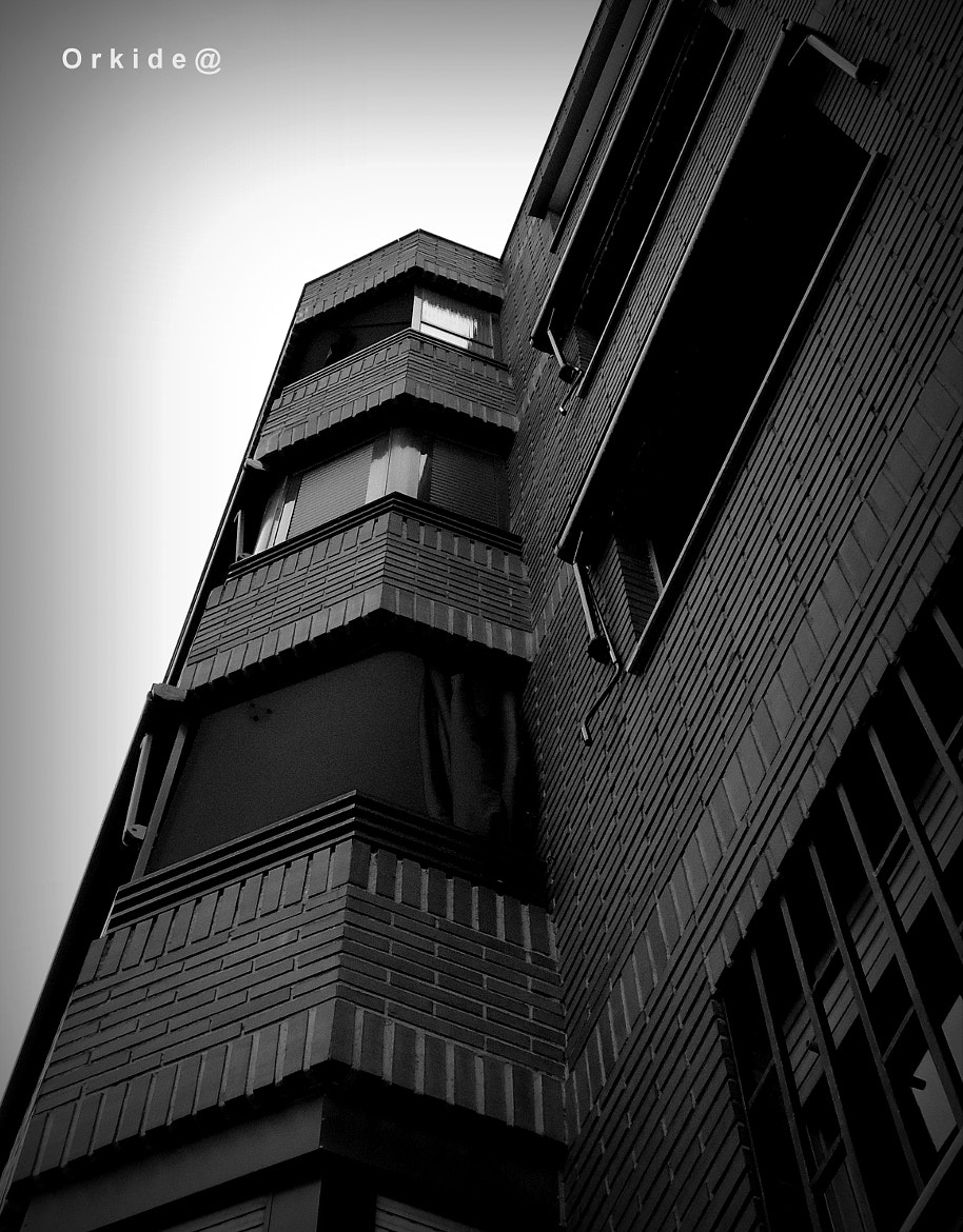 Photograph B&W Building by Orkidea White on 500px