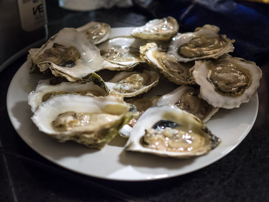 Oysters by John Poltrack on 500px.com