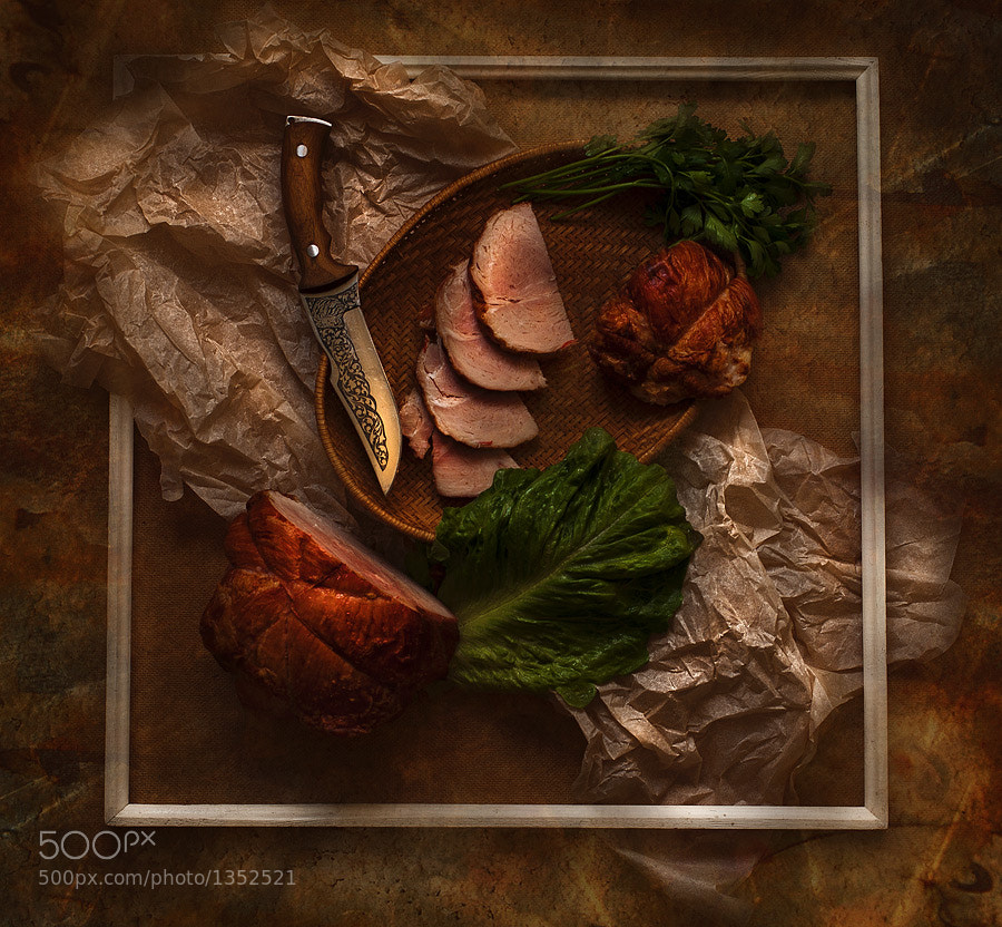 Photograph  installation with boiled pork by Alexander  Sergeev on 500px