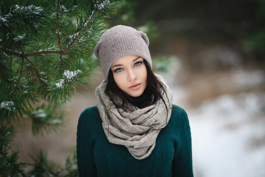 Winter girl by Denis Petrov on 500px.com