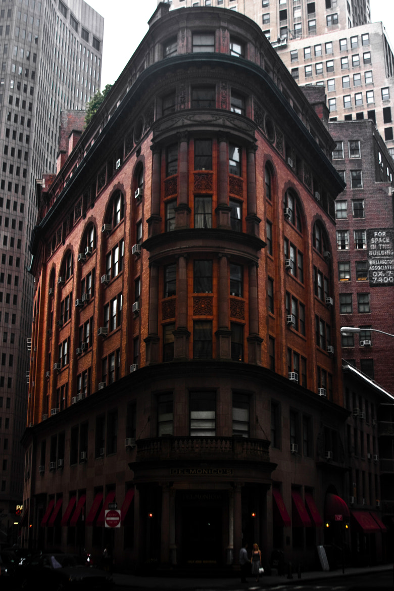 Photograph Delmonico's Building, Lower Manhattan by Michael JW Conway on 500px