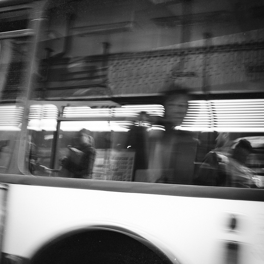 Photograph Ghost in the bus by Mario Galiana on 500px