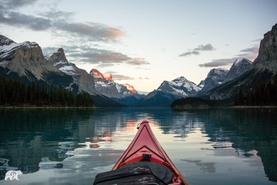 Kayaking Alberta by Chris Burkard on 500px.com