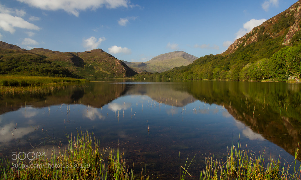 Photograph Llyn Dinas by Richard Wilson on 500px