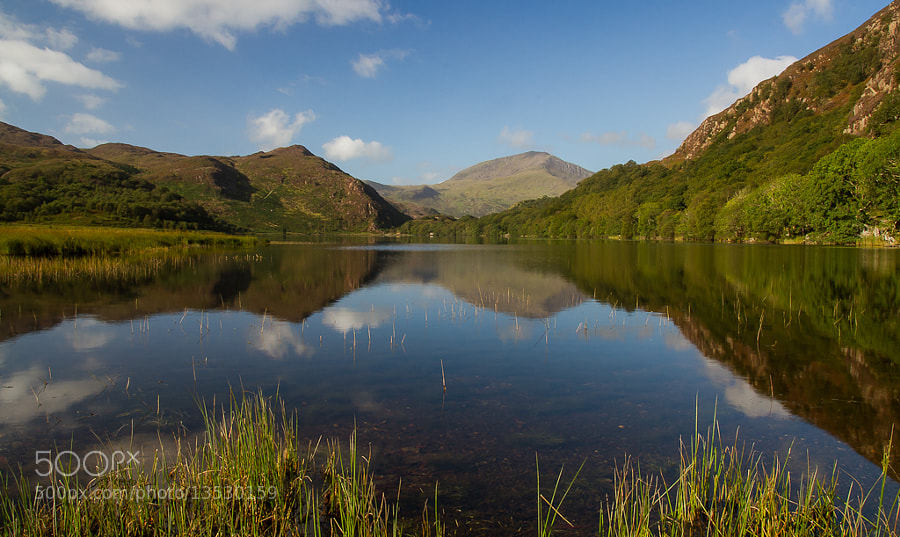 Photograph Llyn Dinas by Richard Wilson on 500px