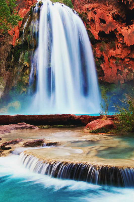 Photograph Havasu Falls by Andrew J. Lee on 500px