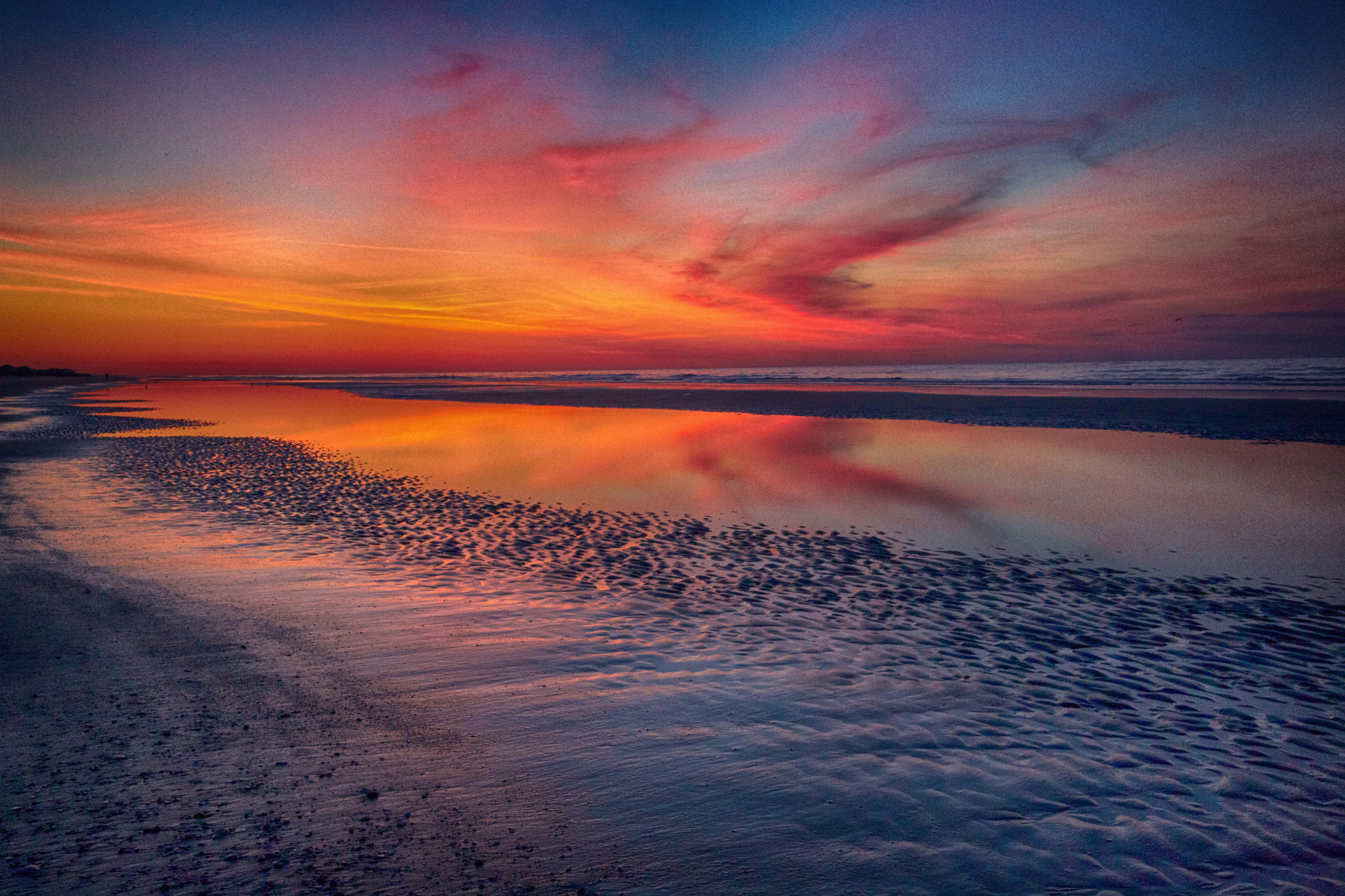 Photograph Sunset Reflection by Diane Le Fevre on 500px