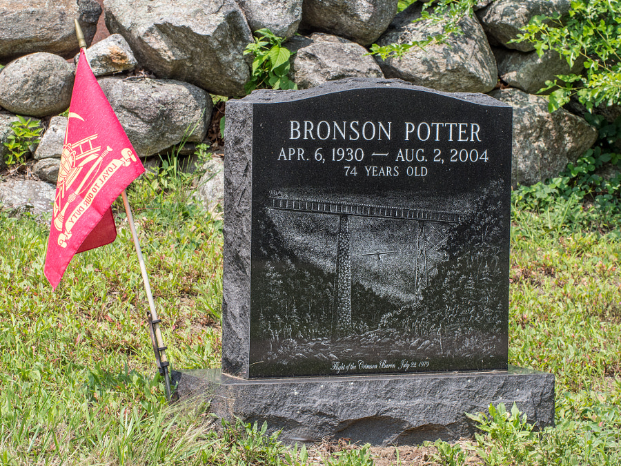 Bronson Potter Grave by John Poltrack on 500px.com
