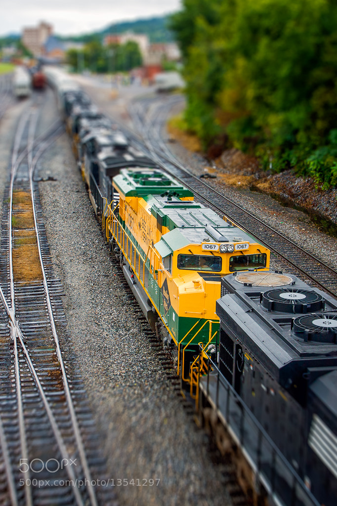 Photograph NS 1067 Reading Heritage Tilt-Shift by Greg Booher on 500px