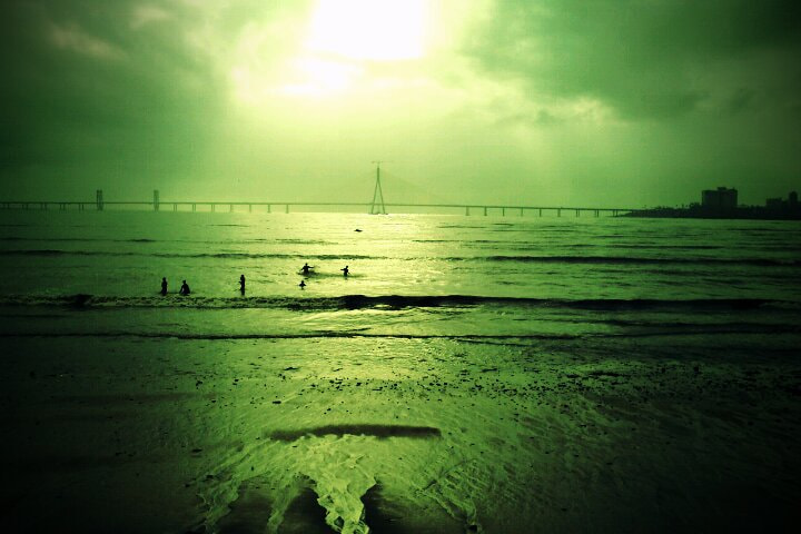 Photograph sea link by Sacheen Vaidya on 500px