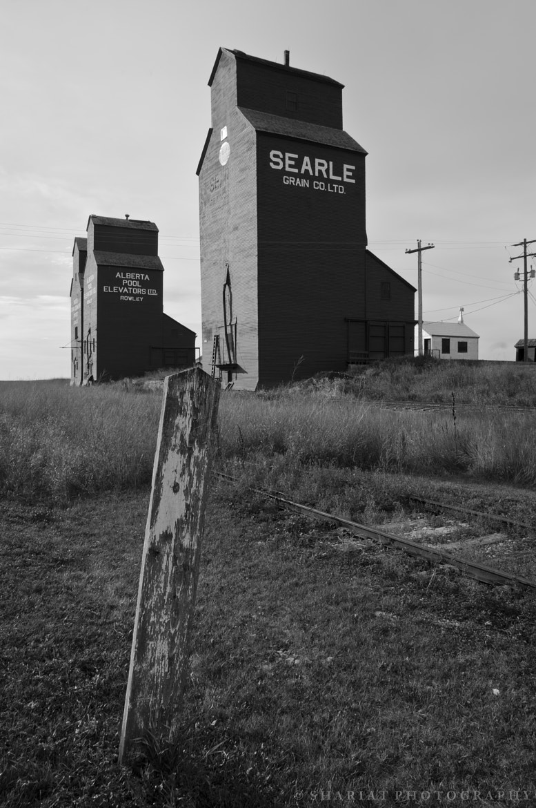 Photograph Grain Elevators by Navid S on 500px
