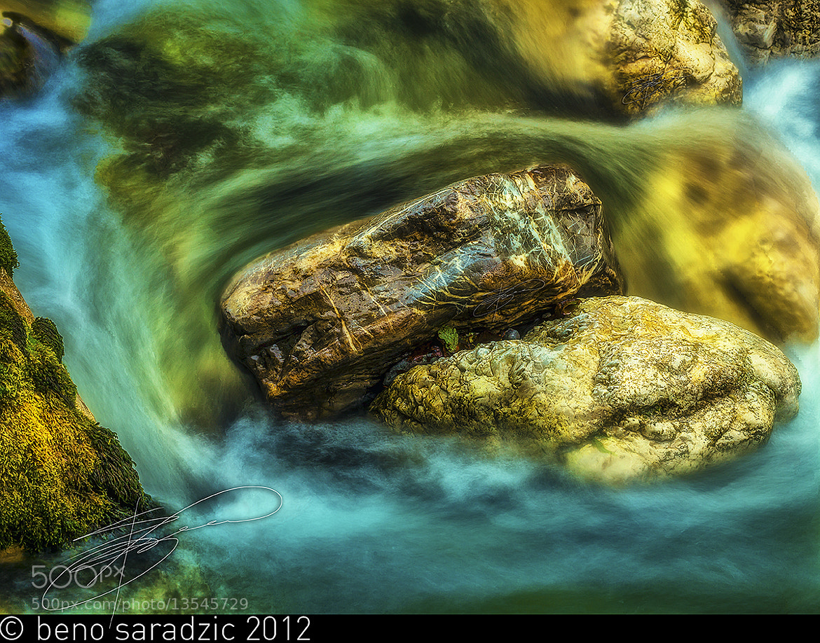 Photograph Tolmin Gorges III by Beno Saradzic on 500px