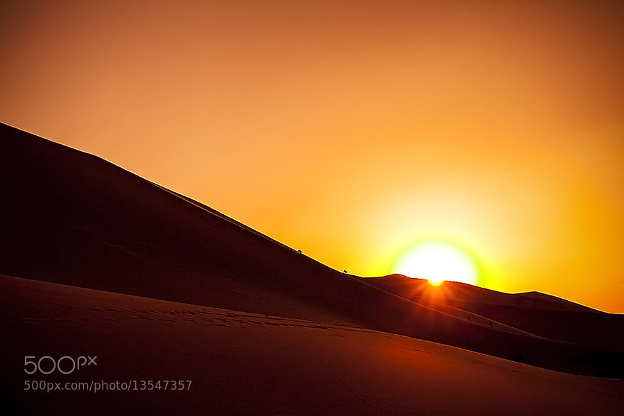 Photograph Chasing the Desert Sun by Michael Steverson on 500px