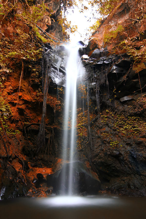 Photograph Waterfall (kuningan) by chan ationg on 500px