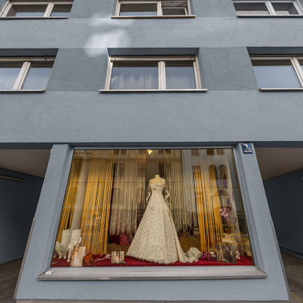 Bridal Shop in Munich, Canon EOS-1DS MARK III