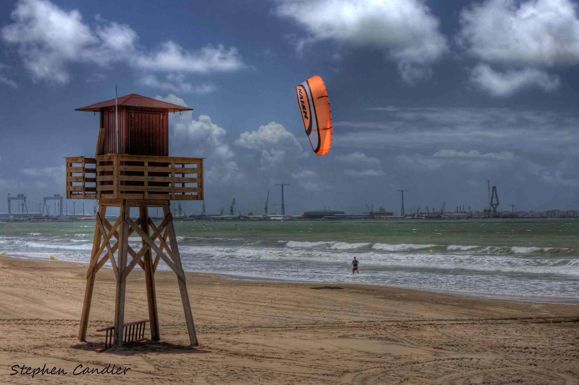 Photograph Kite Surfer by Stephen Candler-Photography on 500px