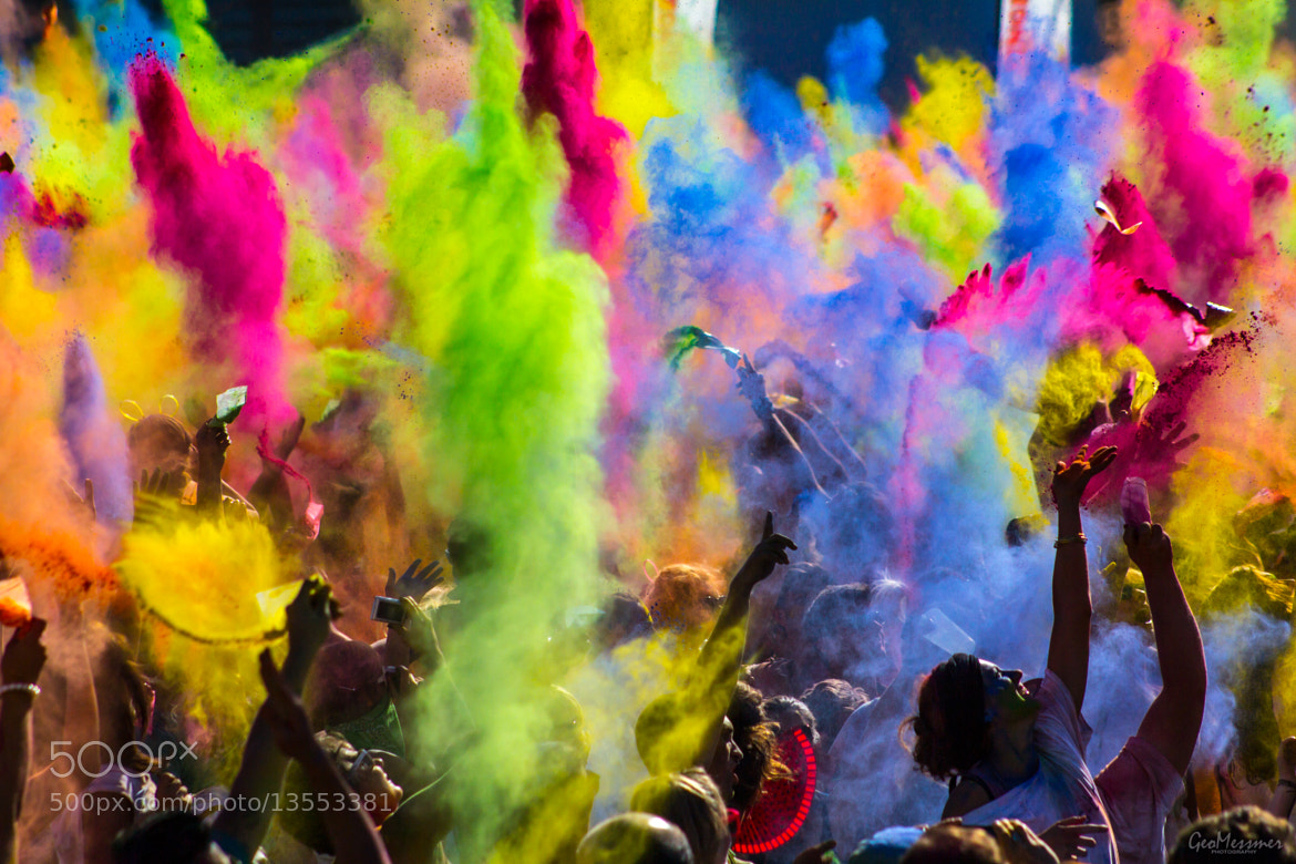 Photograph Festival of Colors by Geo Messmer on 500px