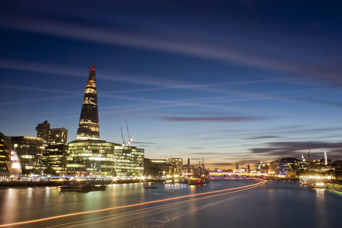 Photograph Shard and the River by Craig Desjardins on 500px