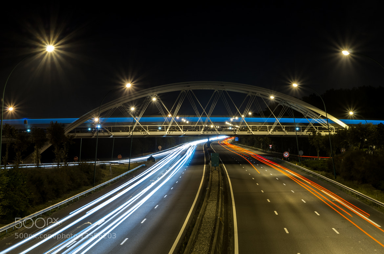 Photograph Toulouse light trail by Mathieu Baulimon on 500px