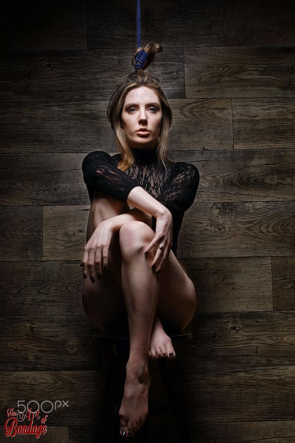 Samantha Bentley hair bondage, Fine Art of Bondage by Rod