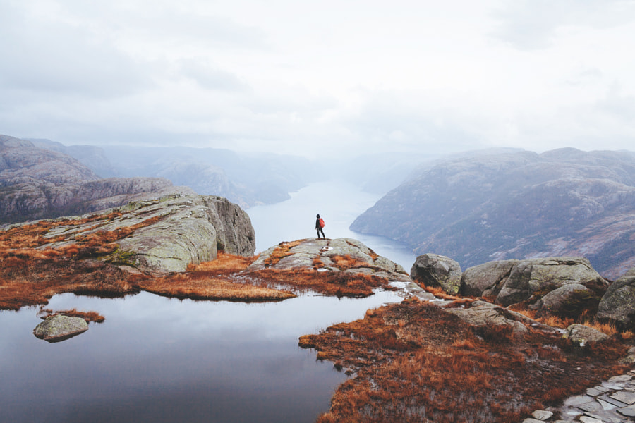 Lysefjorden by Alex Strohl on 500px.com