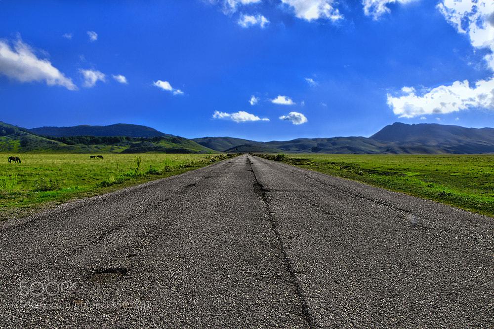 Photograph Mountain road by Kayman Studio on 500px