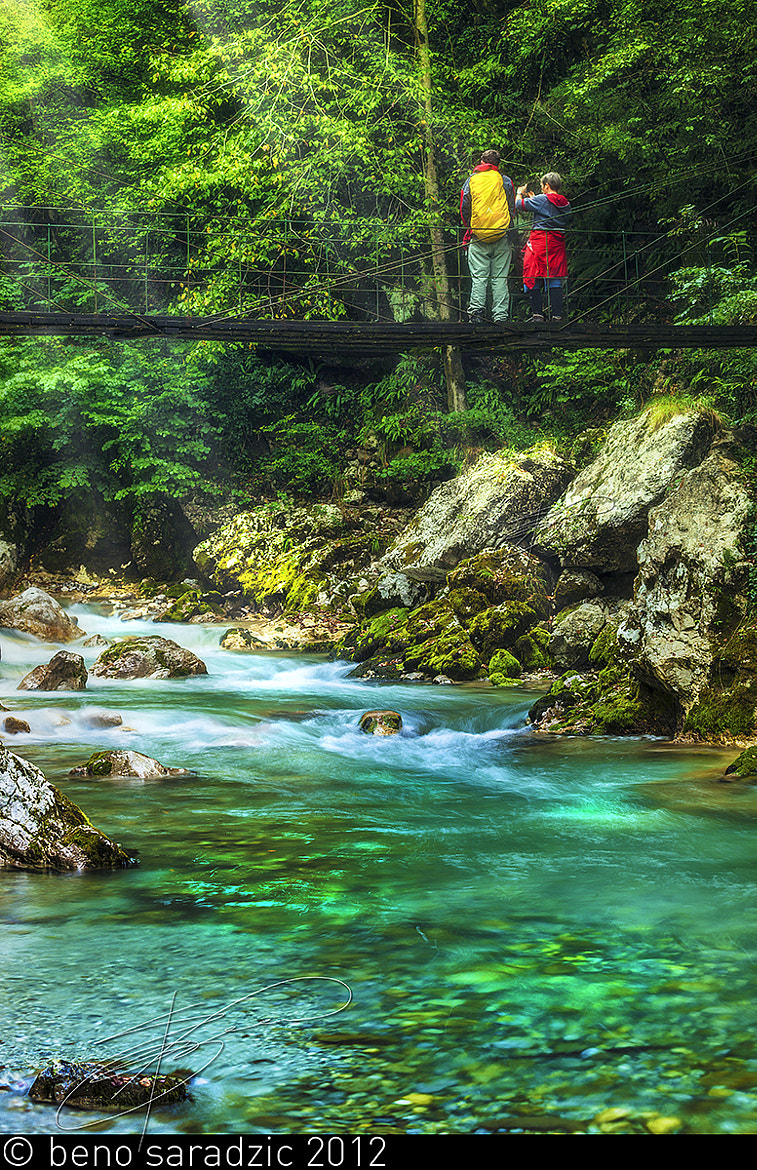 Photograph Tolmin Gorges IV by Beno Saradzic on 500px