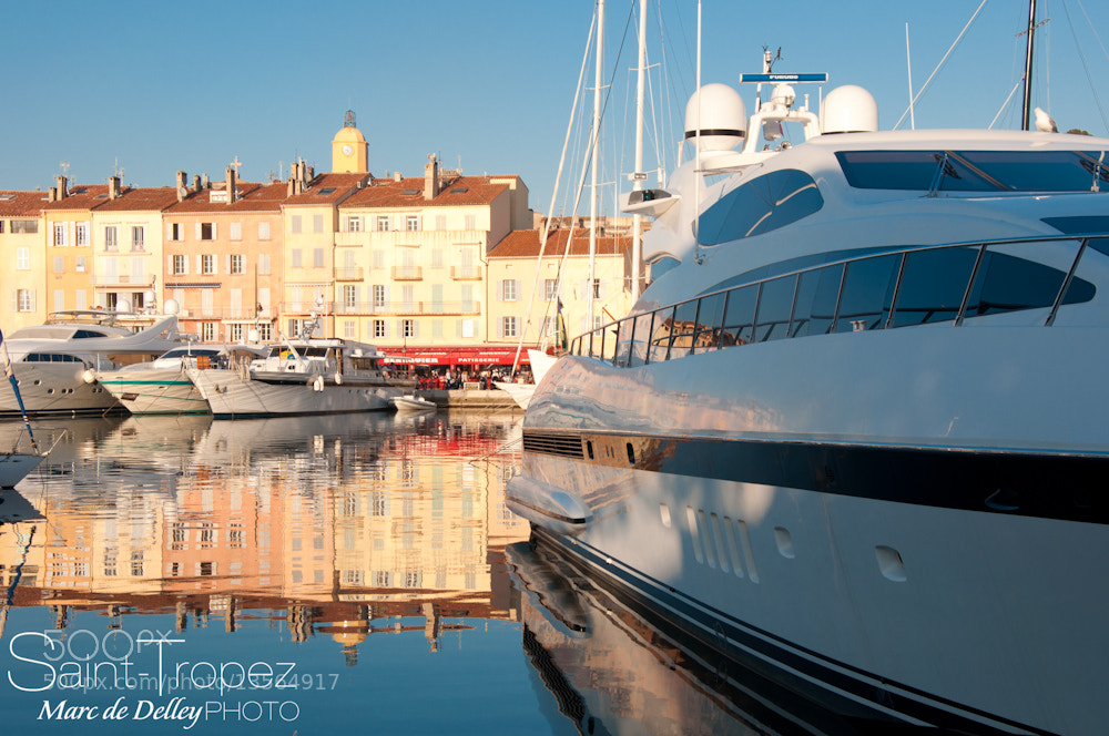 Photograph Saint-Tropez by Marc de Delley on 500px