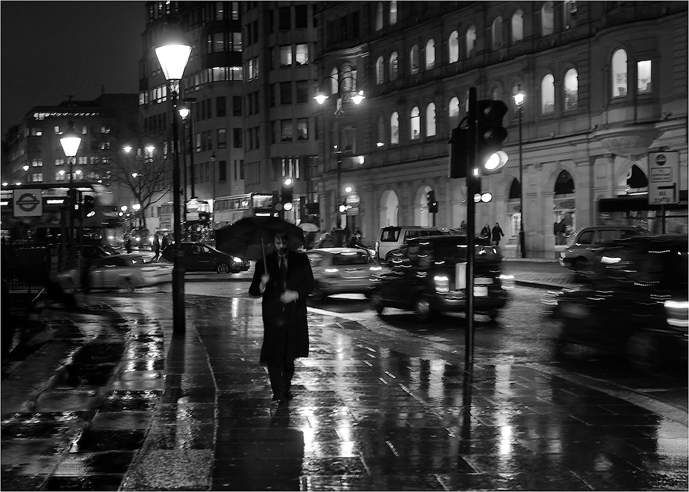 Photograph ..rain man. by Miguel G. on 500px