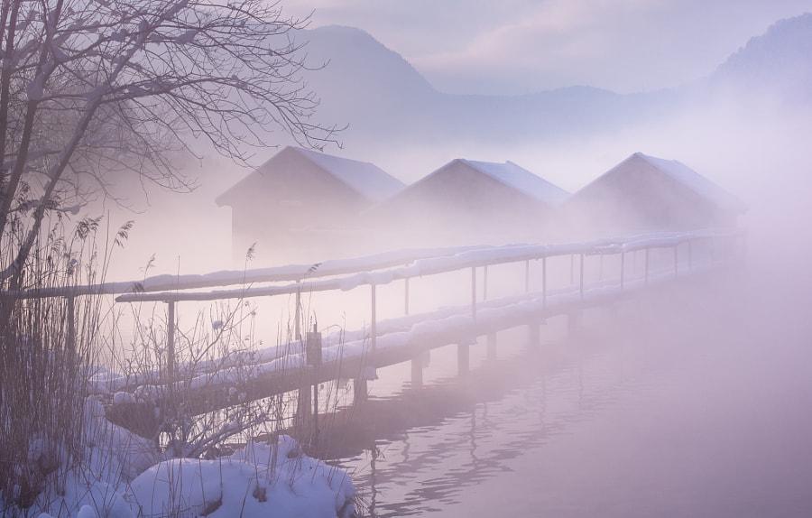 winter lake, автор — Norbert Maier на 500px.com