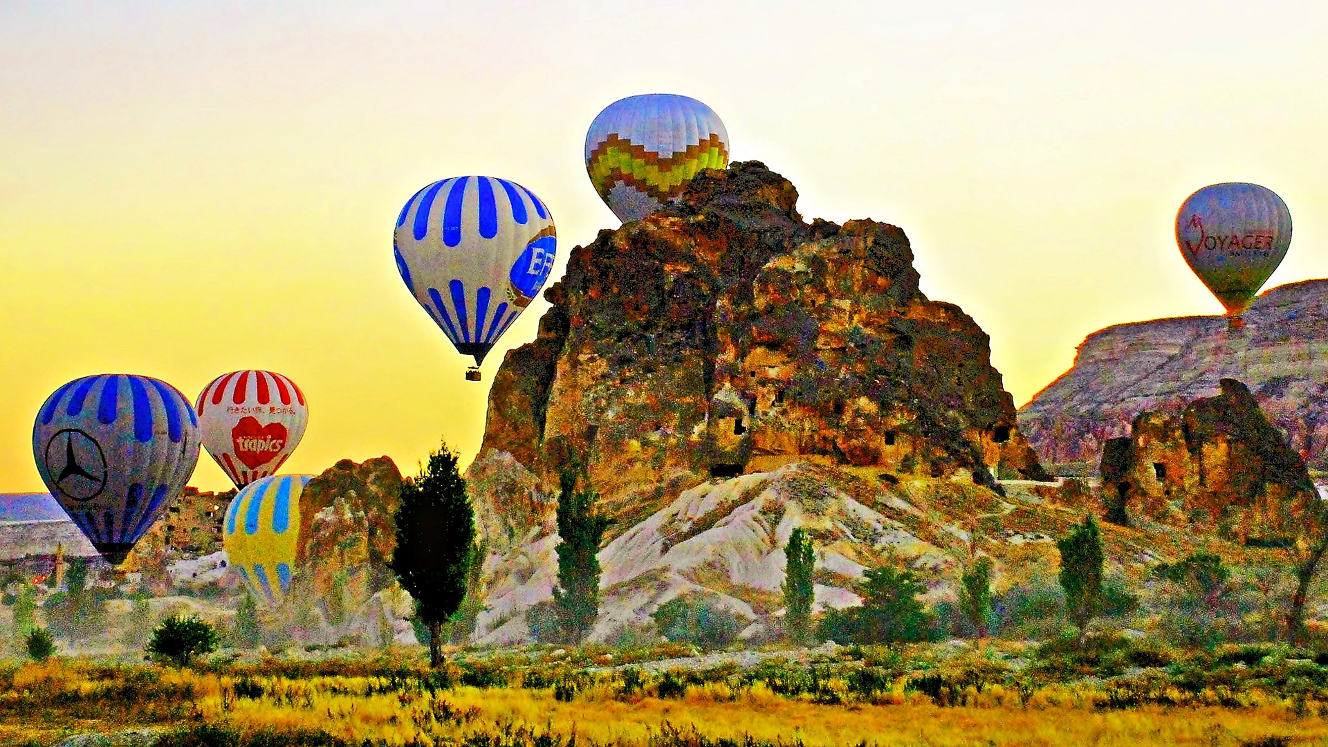 Photograph Cappadocia with Balons by ilker kursun on 500px