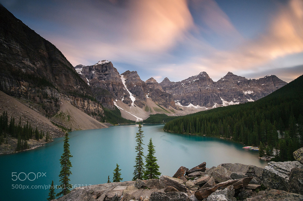 Photograph Moraine Lake, Banff National Park, Canada. by Owen O'Grady on 500px