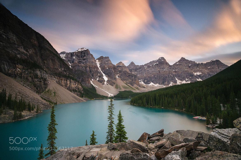 Photograph Moraine Lake, Banff National Park, Canada. by Owen O'Grady on 500px
