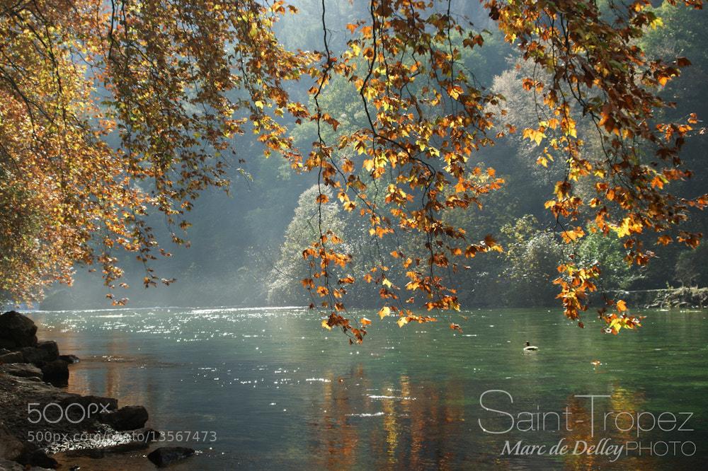 Photograph Fontaine de Vaucluse by Marc de Delley on 500px