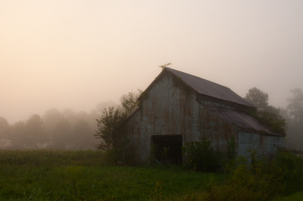Photograph Barn in Mist by Brian Powell on 500px