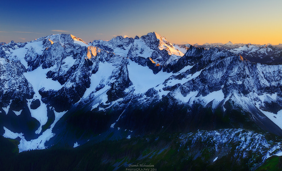 Photograph North Cascades Range by Osamh Alshaalan on 500px