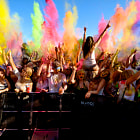 Постер, плакат: Spread the energy Holi festival of colours