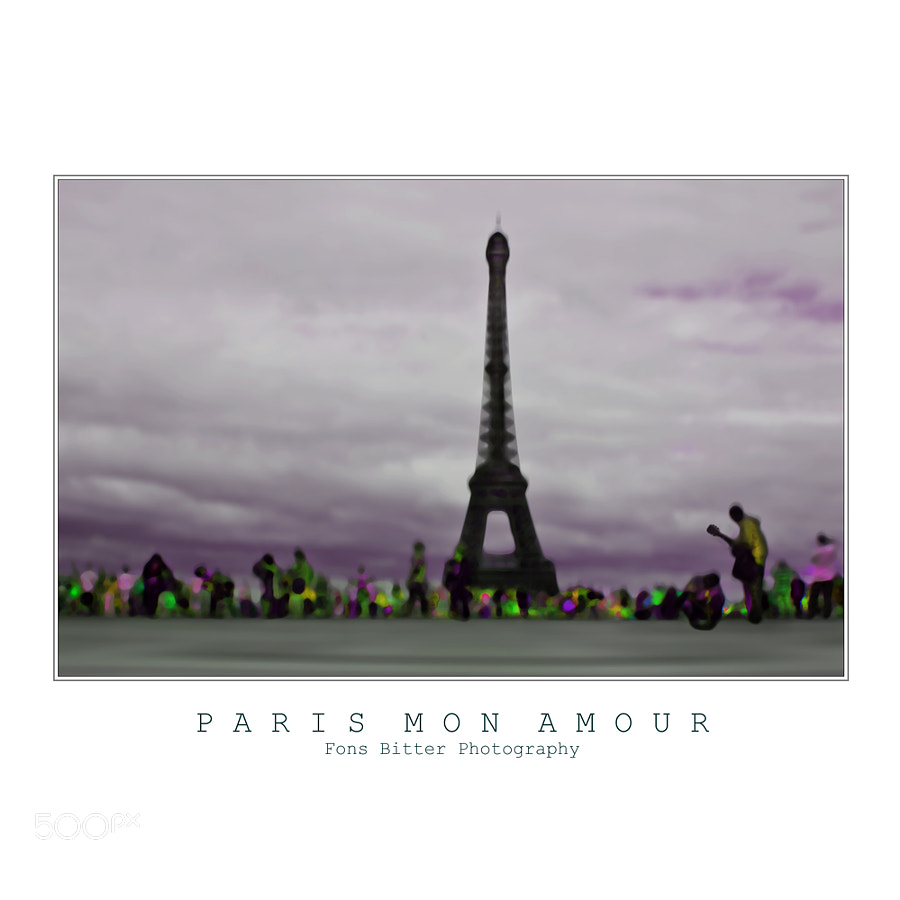 Photograph Paris Mon Amour by Fons Bitter on 500px