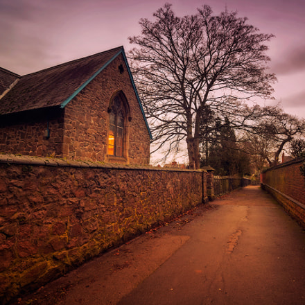 Evening at Blaby, Canon EOS-1DS, Sigma 17-35mm f/2.8-4 EX DG Aspherical HSM