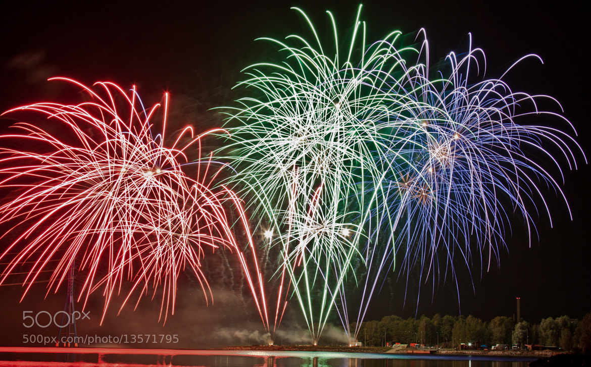 Photograph Fireworks XI by Jari Knuutila on 500px