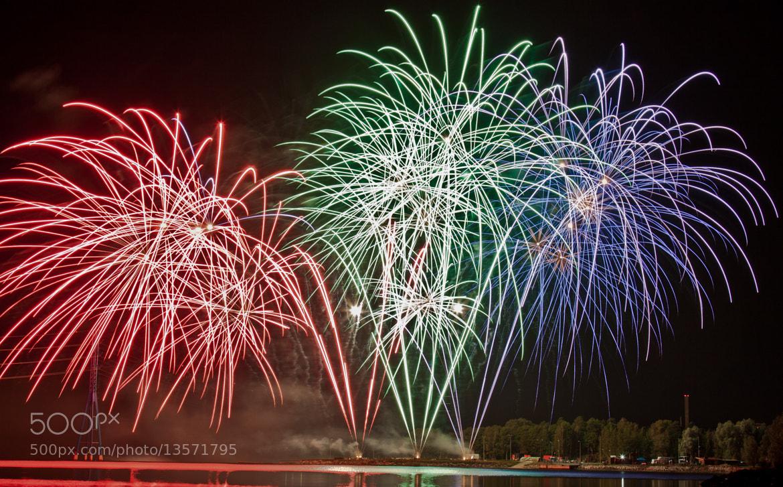 Photograph Fireworks XI by Jari Knuutila on 500px
