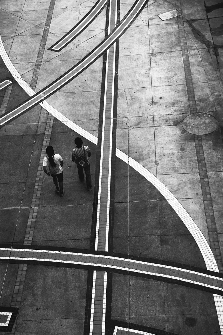 Photograph Walk the Line by Georgie Pauwels on 500px